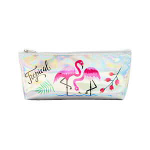 Unick Color Hologramlı Flamingo Desenli Kalem Kutusu 3243