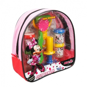 Fun Dough Minnie Sırt Çantalı Oyun Hamuru Seti