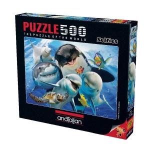 500 Parça Puzzle : Derinlerde Selfie