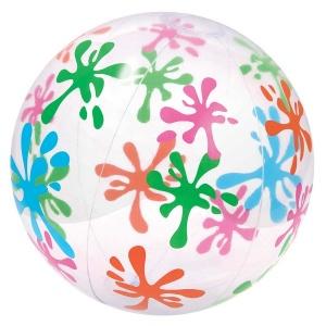 Renkli Desen Plaj Topu