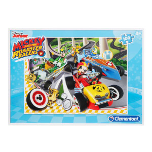 100 Parça Puzzle : Mickey and the Roadster Racers S.C.
