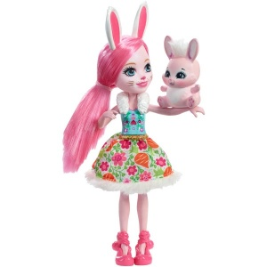 Enchantimals Karakter Bebekler DVH87 (Bree Bunny)