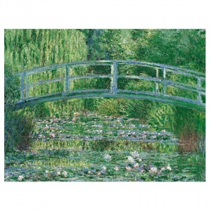 1000 Parça Puzzle : Monet Water Lily Basin Green Harmony