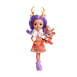 Enchantimals Karakter Bebekler DVH87 (Danessa Deer)