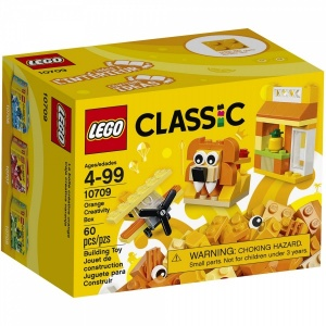 LEGO CLassic Turuncu Yaratıcılık Kutusu 10709