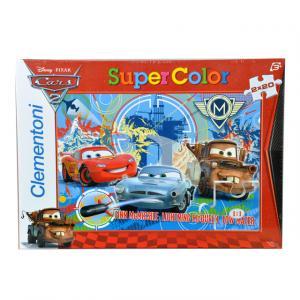 2 x 20 Parça Puzzle : Cars 2