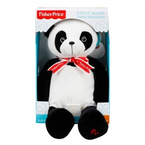 Fisher Price Soft Peluş Oturan Panda 35 cm.