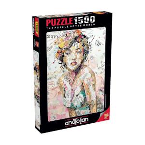 1500 Parça Puzzle : Marilyn Monroe