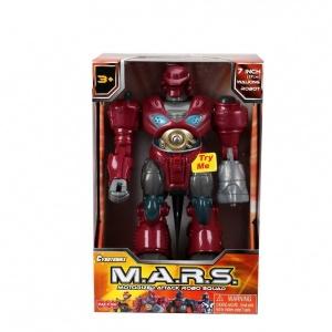 M.A.R.S. Sesli ve Işıklı Yürüyen Robot