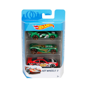 Hot  Wheels 3'lü Araba Seti