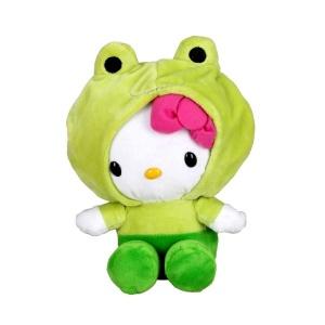 Hello Kitty Hayvan Kostümlü Peluş 19 cm.