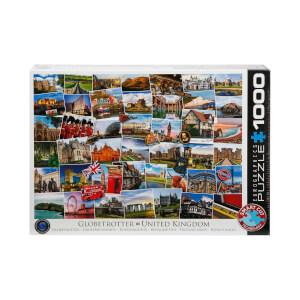 1000 Parça Puzzle : Globetrotter United Kingdom