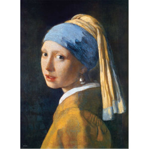 1000 Parça Puzzle : Girl With A Pearl Earring - Jan Vermeer