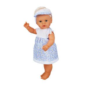 Lila Türkçe Konuşan Bebeğim 60 cm.