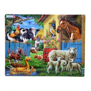 23 Parça Maxi Puzzle  : Çiftlik Hayvanlarını Tanıyalım