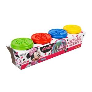Fun Dough Minnie 4'lü Oyun Hamuru
