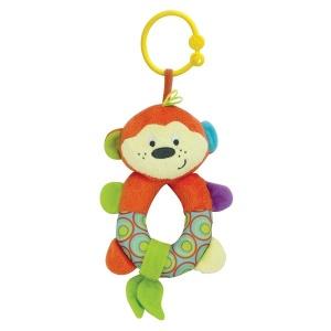Pal Baby Çıngıraklı Peluş Maymun
