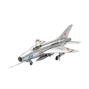 Revell 1:72 Mig-21 F-13 Fishbed Uçak 3967