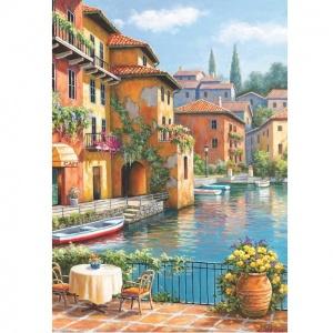260 Parça Puzzle : Kanaldaki Kahve