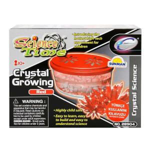 Bilim Seti : Kristal Büyütme Kırmızı