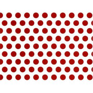 BugyBagy Kırmızı Yuvarlak Duvar Sticker Polska Dots Küçük 200 Adet 3 cm.