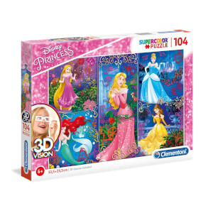 104 Parça 3D Puzzle : Princess