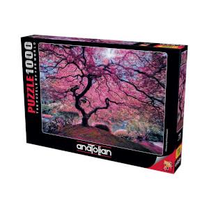 1000 Parça Puzzle : Pink Tree