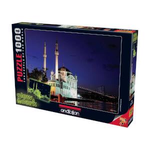 1000 Parça Puzzle : Ortaköy Neon