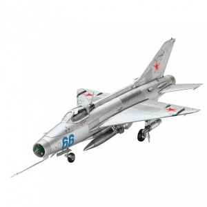 Revell 1:72 Mig-21 F-13 Fishbed Model Set Uçak