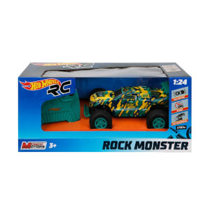 Hot Wheels Rock Monster Araba