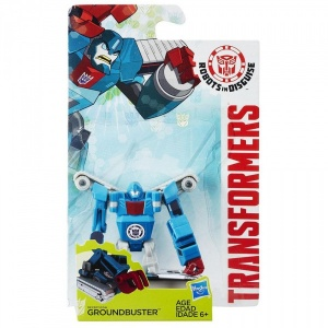 Transformers Robots In Disguise Mini Figür (Groundbuster)