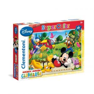 60 Parça Puzzle : Mickey Mouse