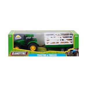 1:32 Teamsterz Römorklu Traktör
