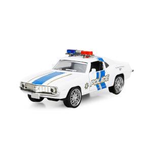 Maxx Wheels Işıklı Amerikan Polis Model Arabalar 12 cm.