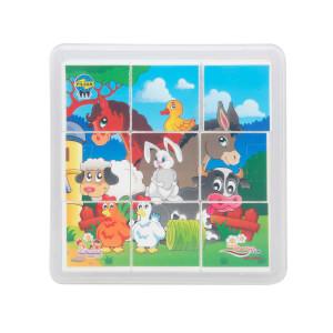 Animal Serisi Puzzle 9 Parça
