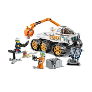 LEGO City Space Port Keşif Robotu Test Sürüşü 60225