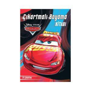 Disney Arabalar Çikartmalı Boyama Kitabı