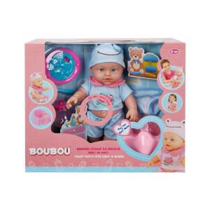 BouBou Bebeğim ve Tuvalet Eğitimi 30 cm.