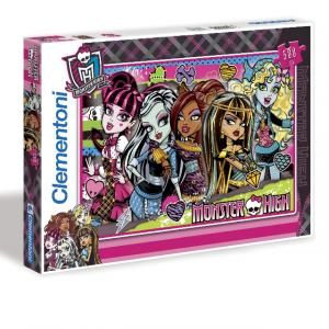 500 Parça Puzzle : Monster High Freakishly Fabulous