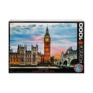 1000 Parça Puzzle: Londra Big Ben