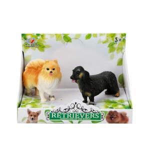 2'li Mini Köpek Figürleri