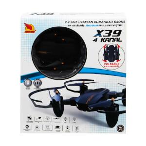 Uzaktan Kumandalı X39 Drone 4 Kanal 2.4 GHz