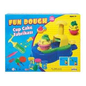 Fun Dough Cup Cake Fabrikası Oyun Hamuru Seti