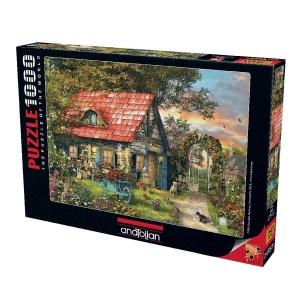 1000 Parça Puzzle : Kulübe