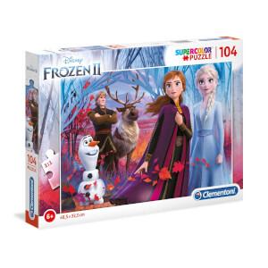 104 Parça Puzzle : Frozen 2