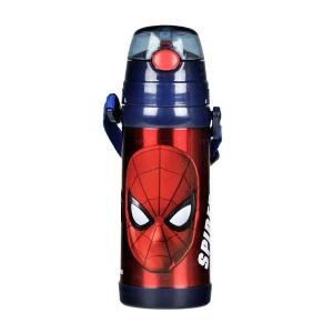 Spiderman Çelik Matara 400 ml. Lacivert