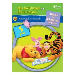 Winnie The Pooh ile Matematik ve Mantık 5 Yaş