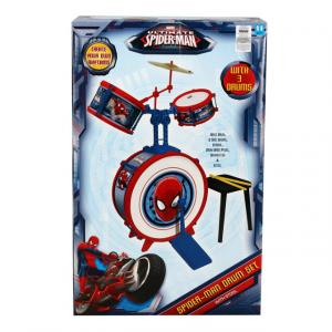 Spiderman Davul Set
