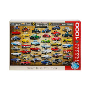 1000 Parça Puzzle : Pickup Truck Evolution