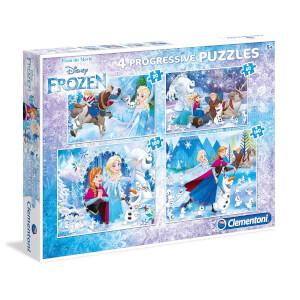 4 in 1 Puzzle : Frozen